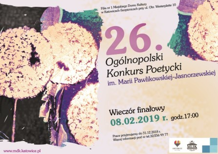 Pawlikowska 2019 - plakat - Kopia