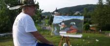 2013 - Plener malarski w Bieszczadach