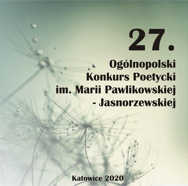 Konkurs Pawlikowskiej Jasnorzewskiej Miejski Dom Kultury