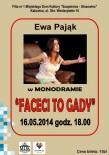 Plakat - faceci to gady strona