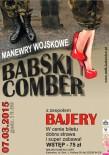 Babski Comber 2015 - plakat