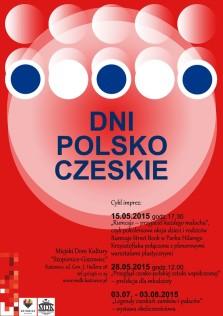 Dni Polsko-Czeskie 2015 - plakat - Kopia