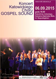 Gospel Sound 2015 - plakat