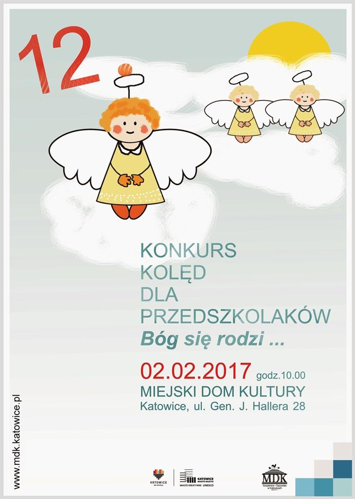 Konkurs Kolęd 2017 – plakat A3 | Miejski Dom Kultury w ... Lubisie Konkurs 2017