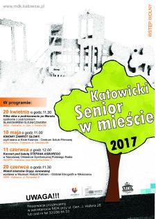 Katowicki Senior w mieście 2017 - plakat