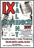 szopienicki talent 2017 plakat