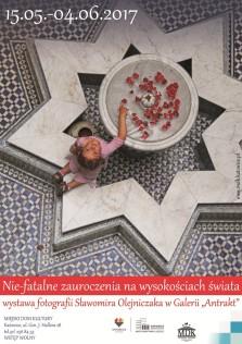 Plakat wystawy - Sławomir Olejniczak - Kopia