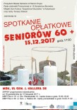 Opłatek dla Seniorów 2017 - plakat A - Kopia