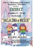 akcja zima w mieście 2018 plakat strona