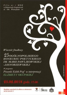 PLAKAT - Pawlikowska-Jasnorzewska strona