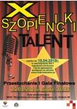 szopienicki talent 2018 plakat  strona