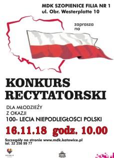 plakat konkurs recytatorski - Kopia