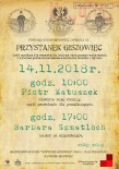 2018 listopad - Przystanek Giszowiec -  dwa nazwiska