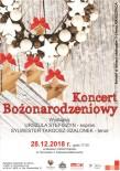 Koncert Bożonarodzeniowy 2018 - plakat - Kopia