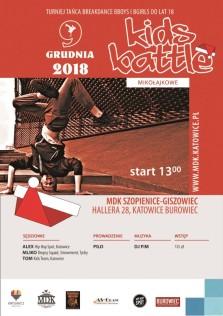 Mikołajkowy Kids battle 2018 - plakat aktualny - Kopia