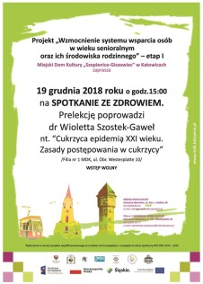 SENIORZY 2018-2019 - plakat nr 1