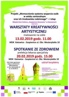 Plakat seniorzy warsztaty kreatywne 3 - Kopia