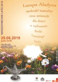 Nikiszowieckie Lato 2019 - Lampa Alladyna - plakat