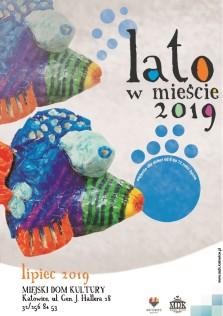 Lato w mieście 2019 - plakat