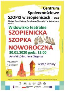 Szopki plakat styczeń 2020 szopka strona