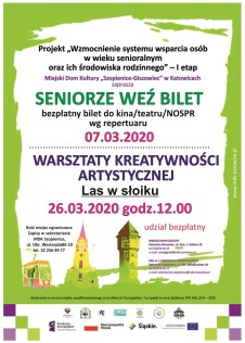 Plakat seniorzy marzec.2020 strona