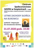 szopki plakat zachód słońcai2020 strona