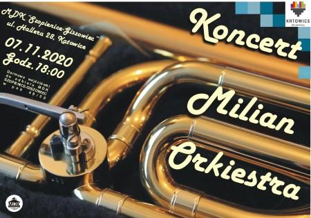 koncert Milian plakat