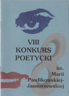 """VIII edycja - """"Jesteś mi konieczny"""".  Projekt okładki: Andrzej Goryczka"""