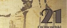 """XXI edycja - przejrzyście nieoczywiste"""" . Projekt okładki: A. Goryczka"""
