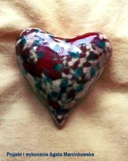 wystawa serce ceramika Agata Marcinkowska 4