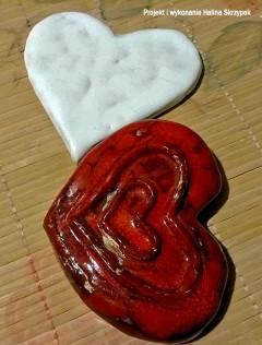 wystawa serce ceramika Halina Skrzypek