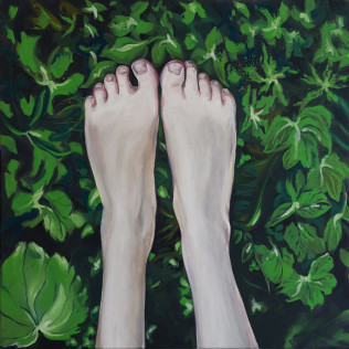 Joanna Róg-Ociepka, Tenderly I, 80x80cm, ol.pł, 2019_m