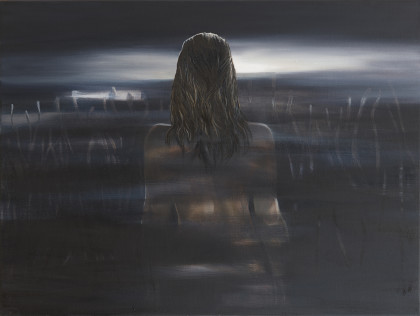 Joanna Róg-Ociepka, Z daleka II, 60x80cm, ol.pł, 2019_m