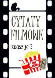 Plakat cytaty filmowe