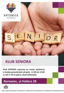 plakat klub seniora 2021 mały
